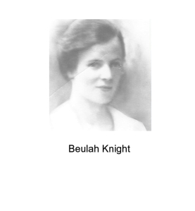 Beulah Knight