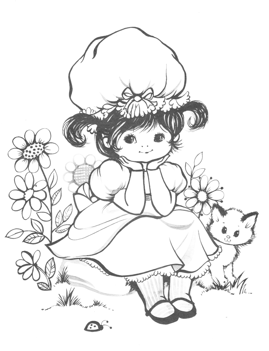 coloring pages retro - photo#44