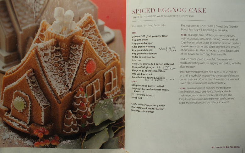 egg nog cake spice