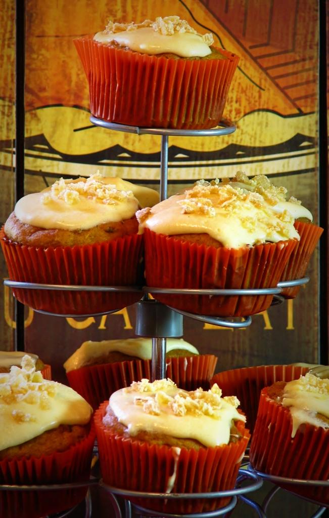 Pumkin Ginger Cupcakes 3